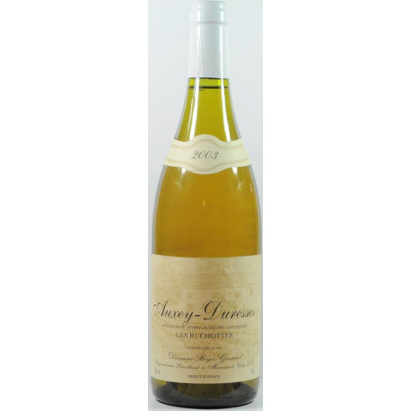 Auxey Duresses Blanc 2003 Boyer-Gontard