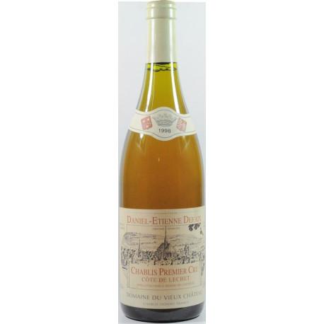Chablis 1er cru Blanc Côtes de Lechet 1998 Daniel-Etienne Defaix