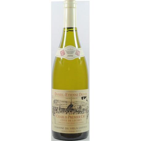 Chablis 1er cru Blanc Côtes de Lechet 2000 Daniel-Etienne Defaix