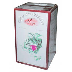 Bag In Box 10 Litres Rosé VDF Cellier des Pradeaux