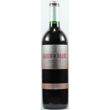 Margaux Rouge 2001 Baron de Brane