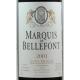 Saint-Emilion Rouge 2001 Marquis de Belleffont