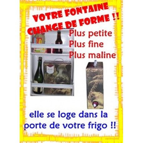 Bag In Box 5 Litres Rouge VDF Cellier des Pradeaux